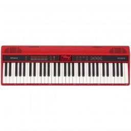 Piano Digital Roland Go Keys Go61k Bluetooh 61 Teclas - Produto Novo - Loja Física