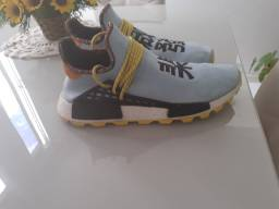 Tênis adidas nmd solar pack Pharell Williams tam 45