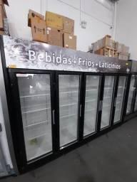 Título do anúncio: Geladeira auto serviço 5 portas para frios lacticínios pronta entrega