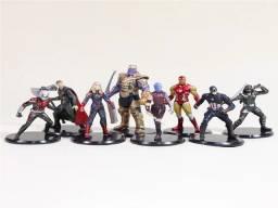 Título do anúncio: 01 Kit Capitã Marvel/América/ Arqueiro Hawkeye/Homem de Ferro Formiga/Nebulosa/Thanos/Thor