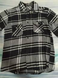Camisa de flanela Thony nova