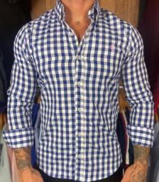 Camisa social manga longa Ralph Lauren