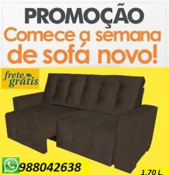 Entrega Rapida +Frete Gratis!!Sofá Retrátil Perfeito Para Apartamento Apenas 949,00