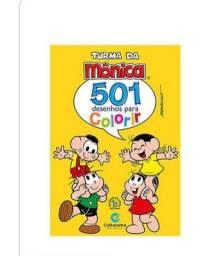 Livros para colorir (2 livros São para pintar, 1 com atividades e desenho)