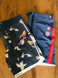 Título do anúncio: Shorts impermeáveis originais hurley