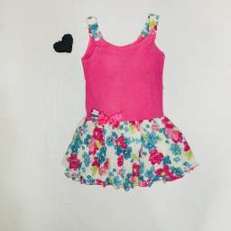 Título do anúncio: Vestido Fashion Menina 6 anos