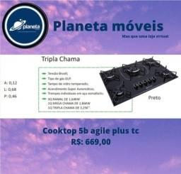 Título do anúncio: Cooktop 5b agile plus tc / BIJUTERIAS BIJUTERIAS BIJUTERIAS