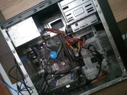 Cpu Core i3 8100, 4GB, sdd 128, Placa mãe AsRock H310M