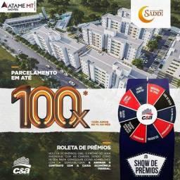 Apartamento para venda com 49 metros quadrados com 2 quartos em Jardim Presidente - Cuiabá