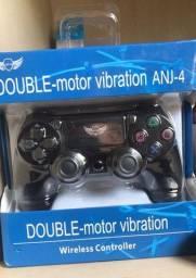 Título do anúncio: Controle PS4 sem fio novo lacrado