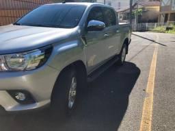 Toyota Hilux 2.7 srv 4X4 CD 16V flex 4P Automática c/ Kit gas 5ª geração.