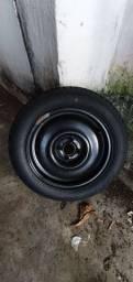 Título do anúncio: Estepe original VW Aro 15 com pneu okm