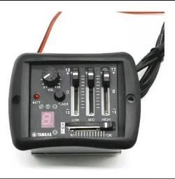 Título do anúncio: Pré amplificador para violão Yamaha APX e CPX - Novo