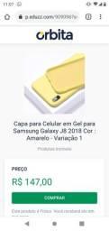 Capa Para celular Samsung j8 em Gel