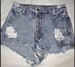 Short jeans Rudá