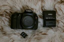 Título do anúncio: Canon 60D com acessórios