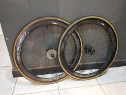 Rodas de carbono gray tubular