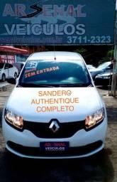 Título do anúncio: Sandero Autentique FLEX 1.0 12V 5P