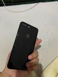 Título do anúncio: iPhone 7plus 256gb (passo cartão)