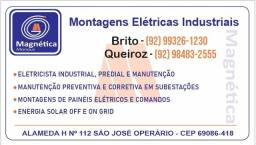 Título do anúncio: eletricista Plantao media e baixa tensão