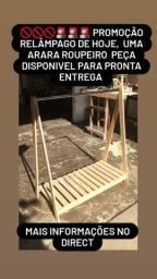 PROMOÇÃO Arara  ROUPEIRO.