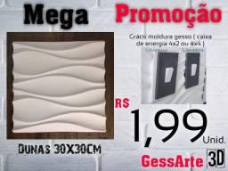 Título do anúncio: Placas de Gesso3D / Apartir de R$0,35 Centavos.