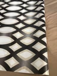 Título do anúncio: Papel de Parede 3D Geométrico 5 metros