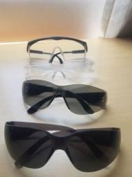 Título do anúncio: 4 Óculos de segurança EPI só 6reais