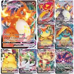 Título do anúncio: Lote Com 10 Cartas Pokémon V - Sem Repetidas