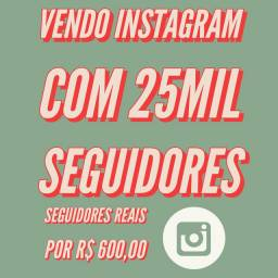 Instagram com 25mil seguidores