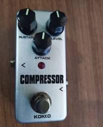 Pedal de Guitarra Compressor Kokko