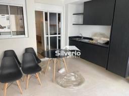 Título do anúncio: Apartamento com 1 dormitório para alugar, 42 m² por R$ 2.200,00/mês - Jardim Aquarius - Sã