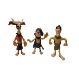 Boneco - Lote Com 03 Bonecos Mcdonald - Usado