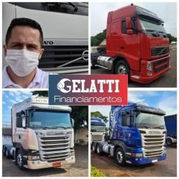 Título do anúncio: Scania g380 g420 volvo fh440 fh460 mercedes man iveco carretas e financiamento