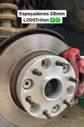 Triton 32 38 50mm alargador roda alumínio dural com centralizador