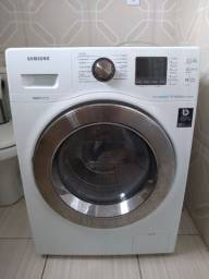 Título do anúncio: Máquina de lavar Samsung ecobubble 10,1kg/6,0kg modelo( WD106UHSAWQ) 127v