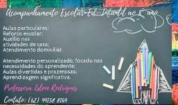 Título do anúncio: Aulas particulares - reforço escolar