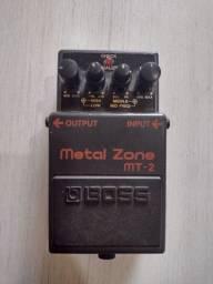 Título do anúncio: Pedal Boss Metal Zone MT-2
