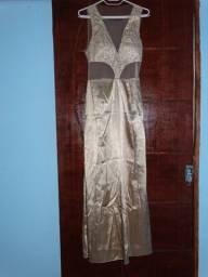 Vestido Longo Tule