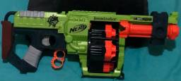 Nerf doominator zombie strike metralhadora