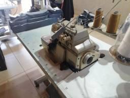 máquinas de costura reta, e interloc.