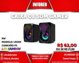 Título do anúncio: Caixa de Som Gamer  L9090 - R$62,00