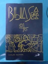 Título do anúncio: Bíblia sagrada. Edição pastoral