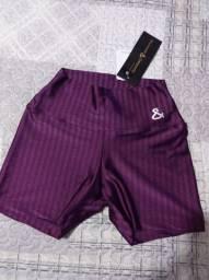 Título do anúncio: Shorts fitness cor vinho - tamanho M