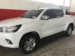 Hilux SRV 2.8 4x4 diesel na garantia - 2017
