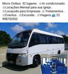 Faço frete micro-ônibus 32 lugares