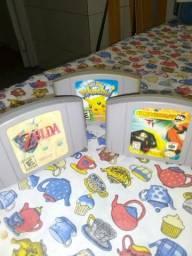 Três jogos Nintendo 64