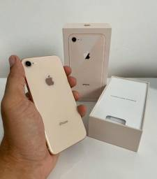 IPhone 8 64 GB Gold Rose, Completo impecável