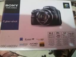 Máquina fotográfica profissional da sony