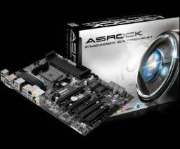 """Placa Mãe AMD Socket FM2+ - AS Rock Fm2A88x Extreme 4+ - A melhor desse socket"""""""
